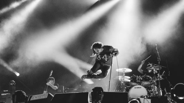 Pearl Jam concert in Amsterdam