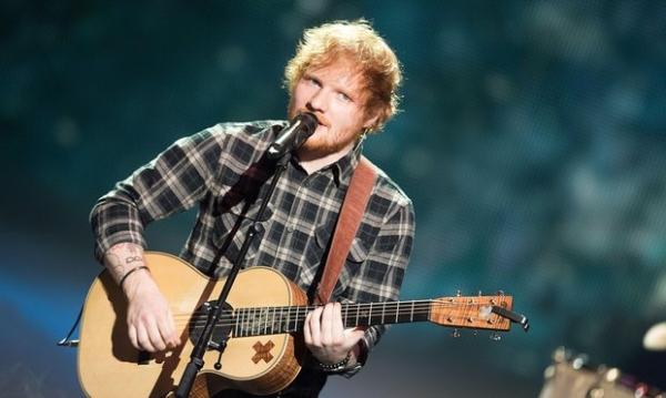 Ed Sheeran concert in Berlin