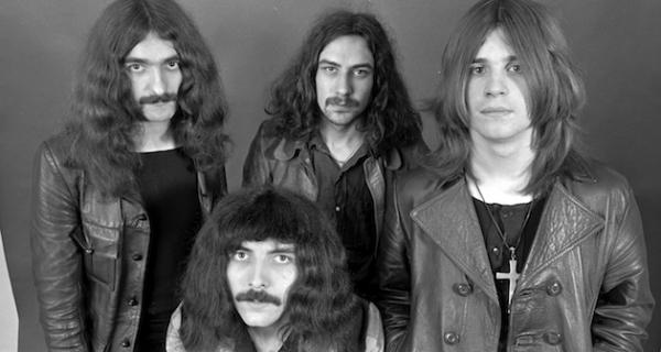 Black Sabbath live concert in Paris