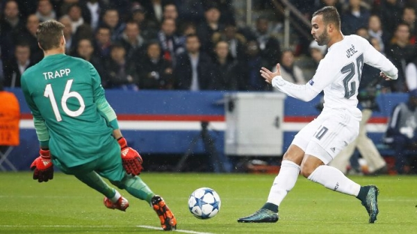 Paris St. Germain, Real Madrid draw to remain atop Group A standings