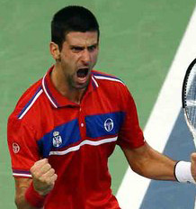 Djokovic levels Davis Cup final for Serbia after Monfils takes opener