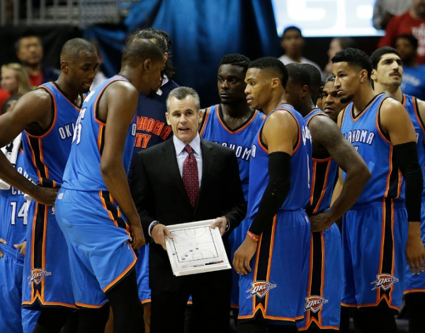 BILLY DONOVAN'S ONE-ON-ONE GAME PLAN TO CONNECT WITH THUNDER PLAYERS