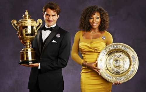 Roger and Serena