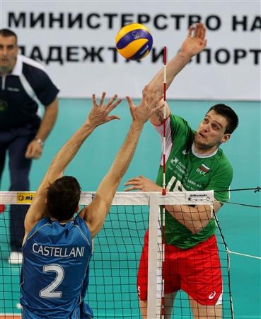 Captain Aleksiev and his teammates were unstoppable in attack