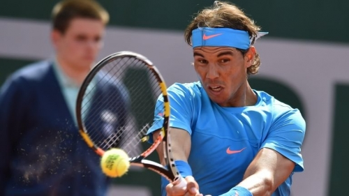 Rafael Nadal: Conceded his first set in this year's competition