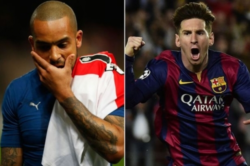 Change of pace: The English elite failed in Europe again as Barca continue to thrive