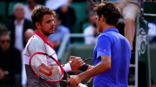 Roger Federer exits French Open after defeat by Wawrinka